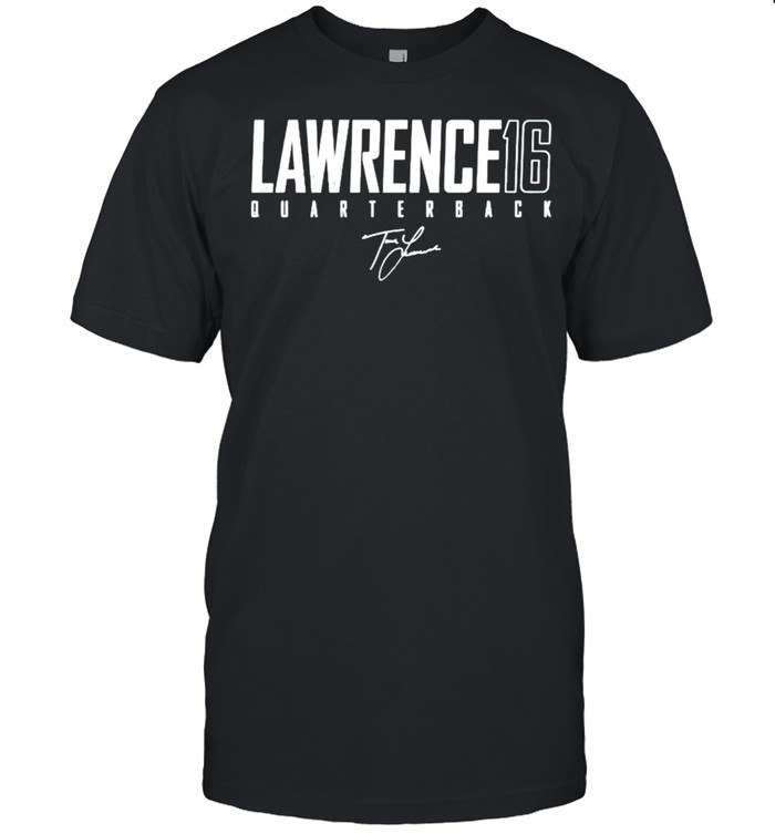 Lawrence 16 quarterback signature shirt Classic Men's T-shirt