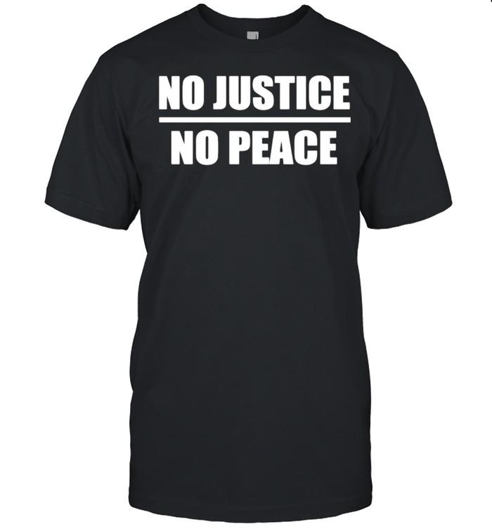 No Justice No Peace shirt Classic Men's T-shirt