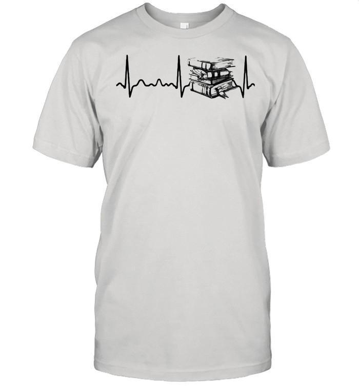 Heart Beat Book  Classic Men's T-shirt