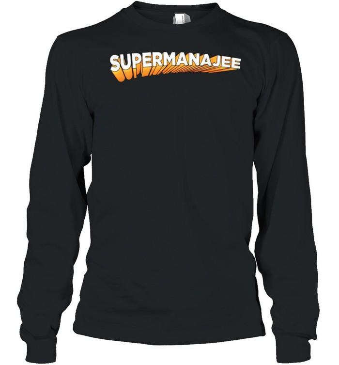 Supermana jee shirt Long Sleeved T-shirt