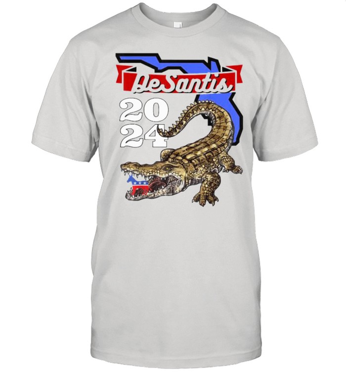 Desantis 2024 for Florida Lovers Cross  Classic Men's T-shirt
