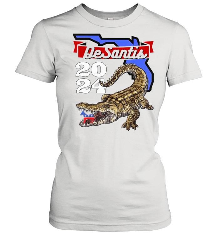 Desantis 2024 for Florida Lovers Cross  Classic Women's T-shirt