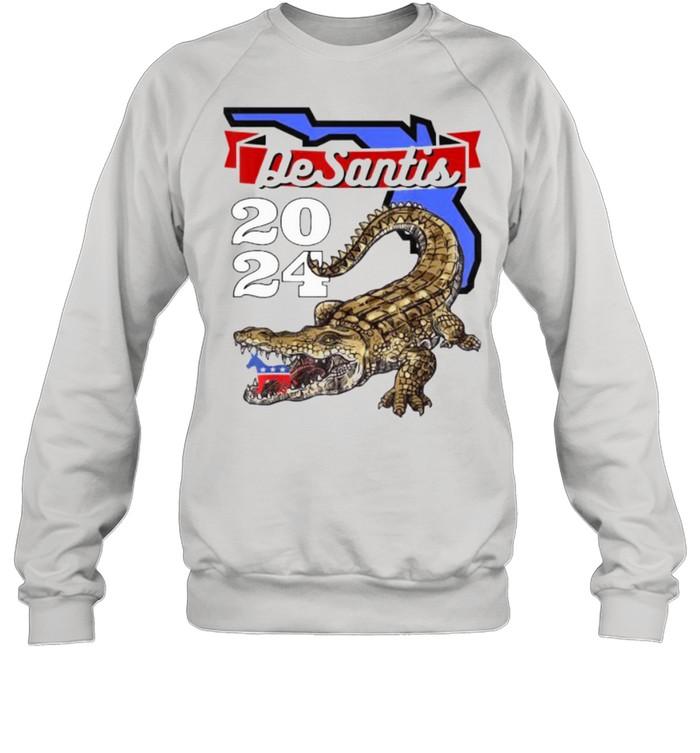 Desantis 2024 for Florida Lovers Cross  Unisex Sweatshirt