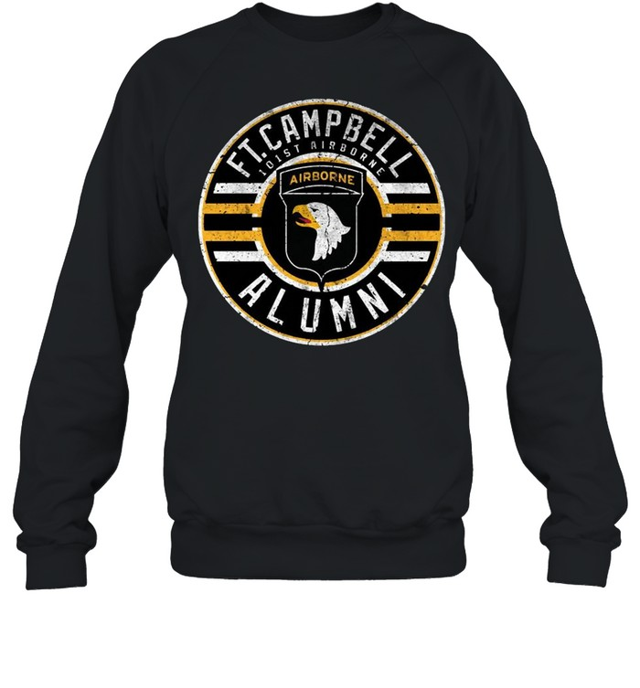 Ft Campbell 101st Airborne Alumni  Unisex Sweatshirt