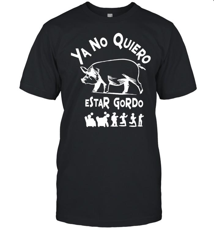 Ya No Quiero Estar Gordo  Classic Men's T-shirt