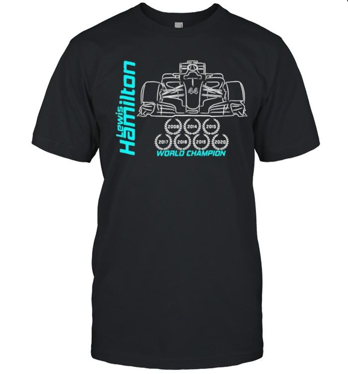 Lewis hamilton world champion shirt Classic Men's T-shirt