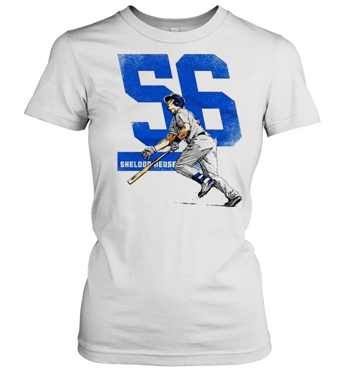 Los Angeles Baseball 56 Sheldon Neuse shirt Classic Women's T-shirt