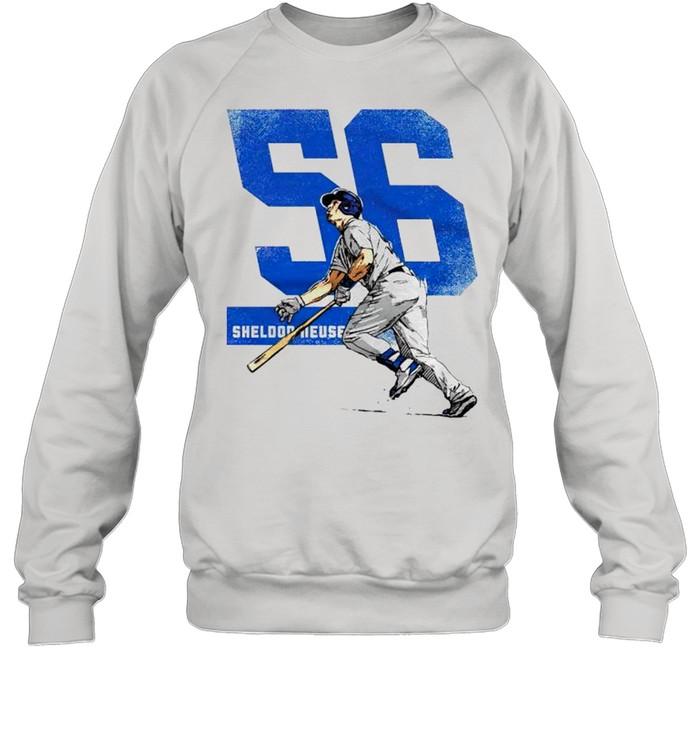 Los Angeles Baseball 56 Sheldon Neuse shirt Unisex Sweatshirt