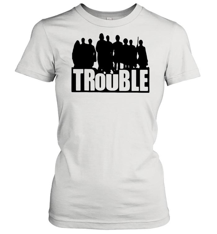 The Chosen Merch Store Trouble New 2021 T-shirt Classic Women's T-shirt