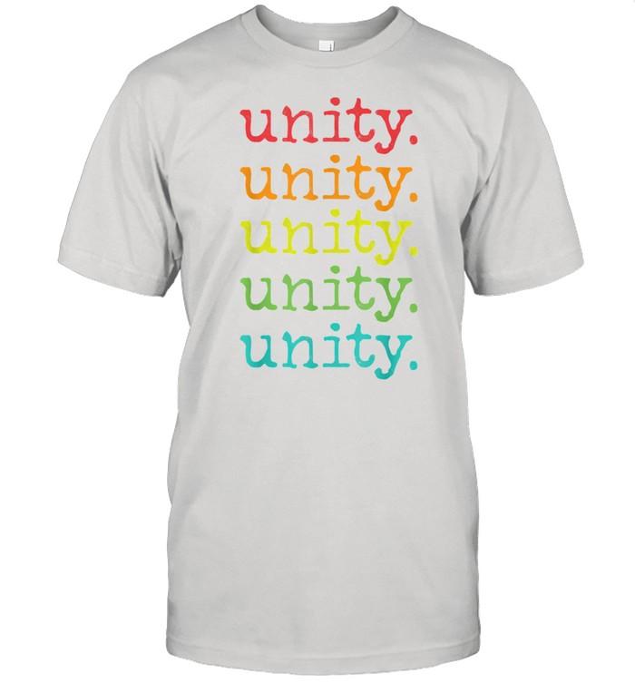 Unity Presidential Inauguration 2021 President Speech shirt Classic Men's T-shirt