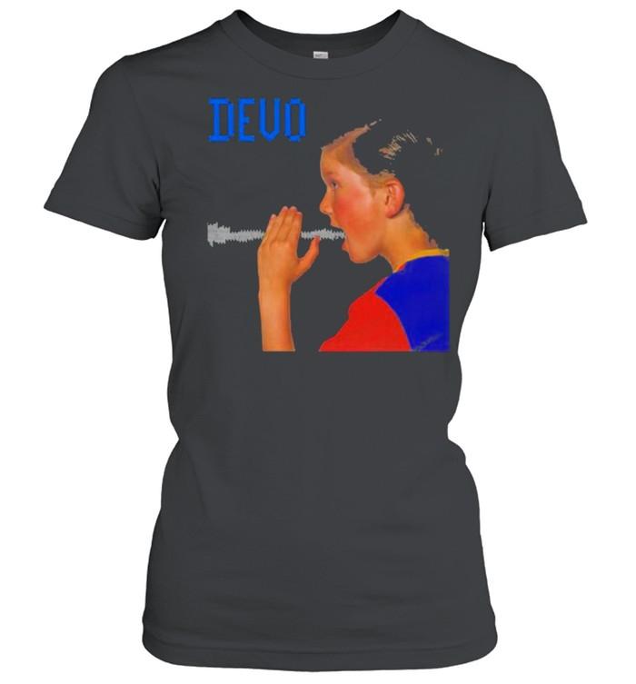 Devo are we not men shirt Classic Women's T-shirt