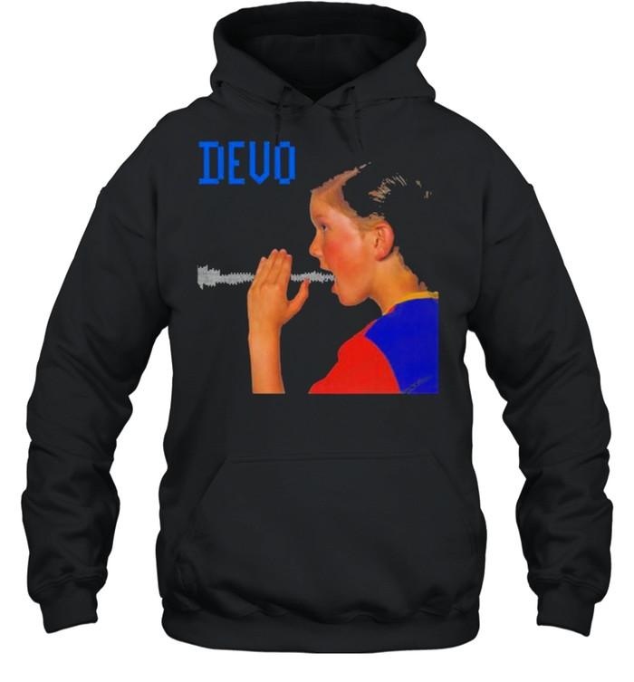 Devo are we not men shirt Unisex Hoodie