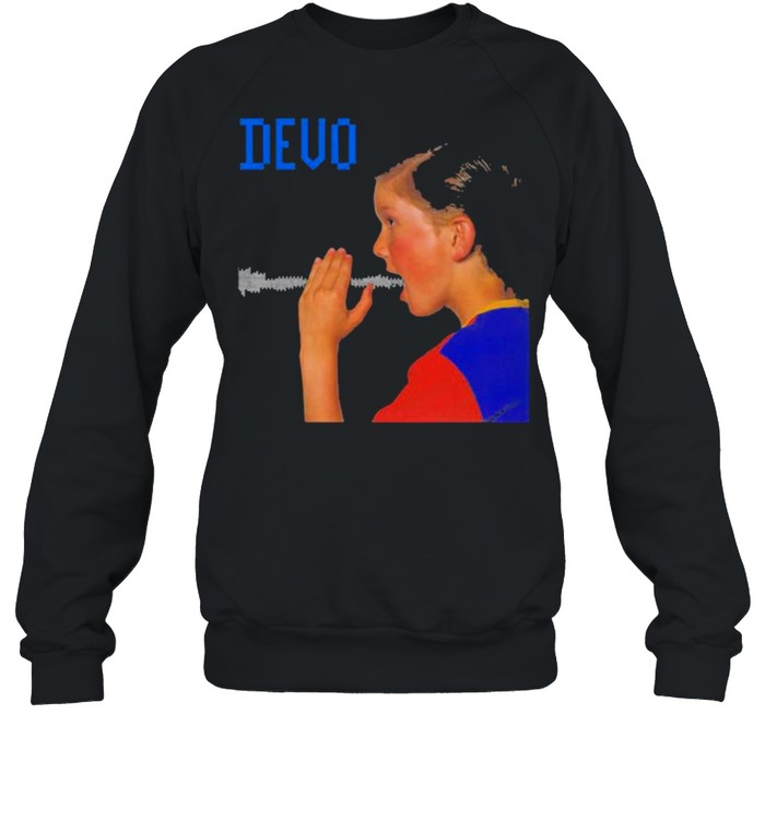 Devo are we not men shirt Unisex Sweatshirt
