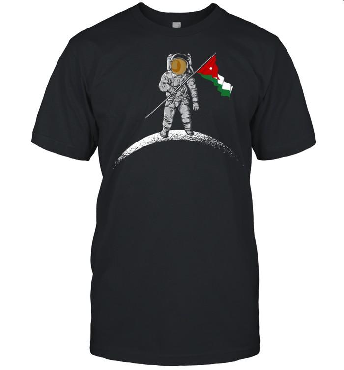 Jordan Heritage Jordanian Astronaut Moon shirt Classic Men's T-shirt