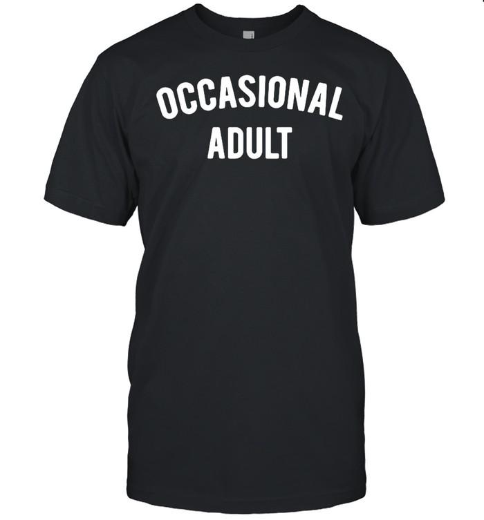 Occasional adult shirt Classic Men's T-shirt