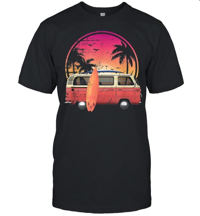 Vintage Van Surfer Van Life Retro Van shirt Classic Men's T-shirt