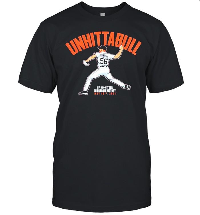 UNHITTABULL 8th no hitter in detroit history shirt Classic Men's T-shirt