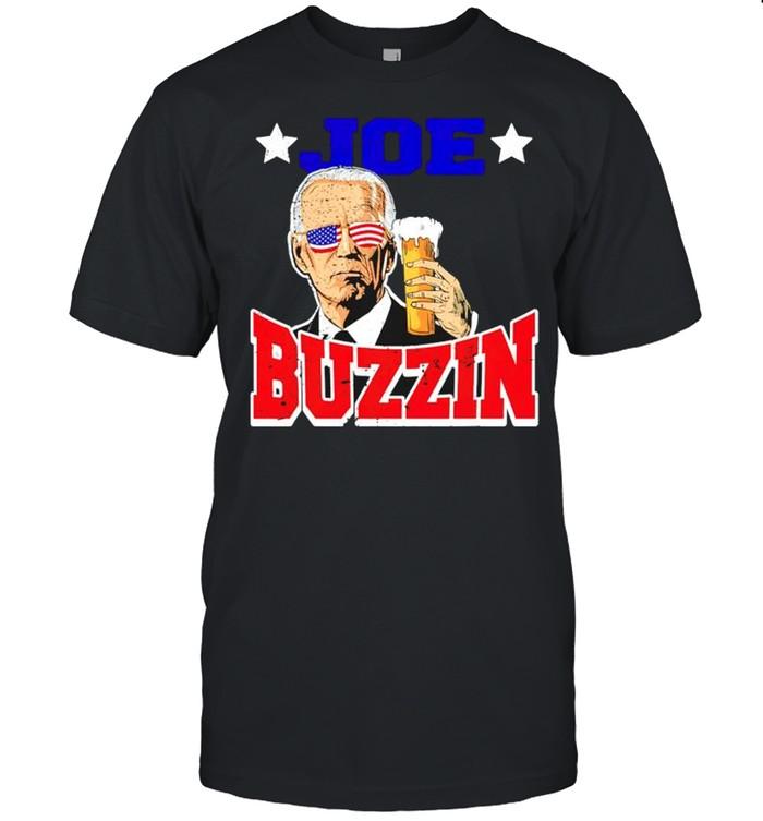 Joe Biden buzzin 4th of July shirt Classic Men's T-shirt