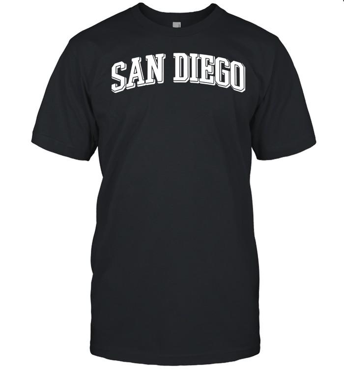 San Diego  California Kalifornien USA Amerika Souvenir shirt Classic Men's T-shirt