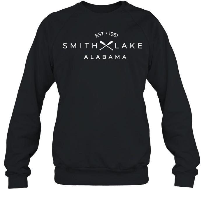 Smith Lake Alabama Est 1961 T- Unisex Sweatshirt