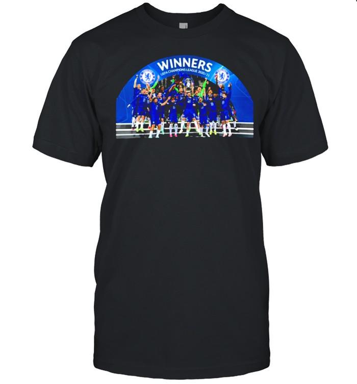 Chelsea final 2020 2021 uefa champions shirt Classic Men's T-shirt