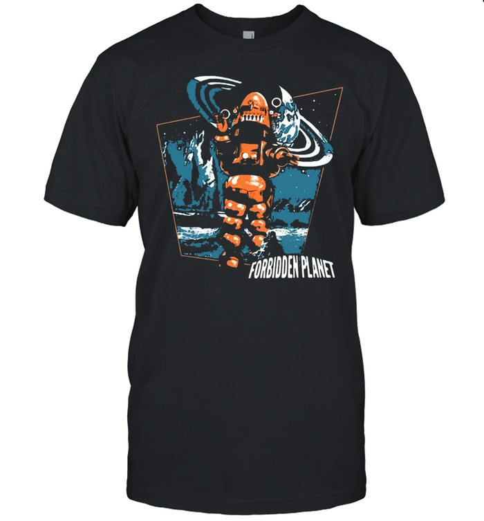 Forbidden Planet Robby Walks T-shirt Classic Men's T-shirt