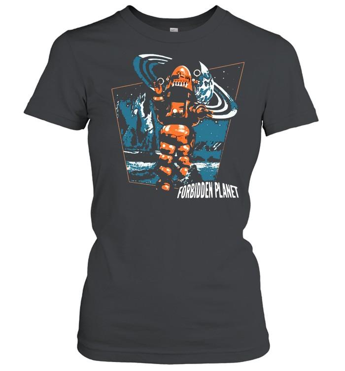 Forbidden Planet Robby Walks T-shirt Classic Women's T-shirt