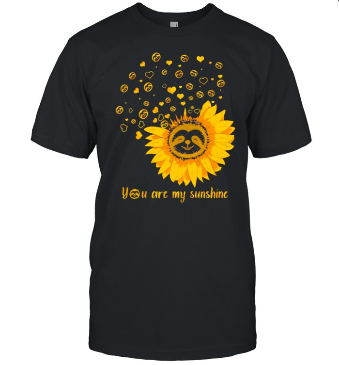 You Are My Sunshine Flower  Classic Men's T-shirt