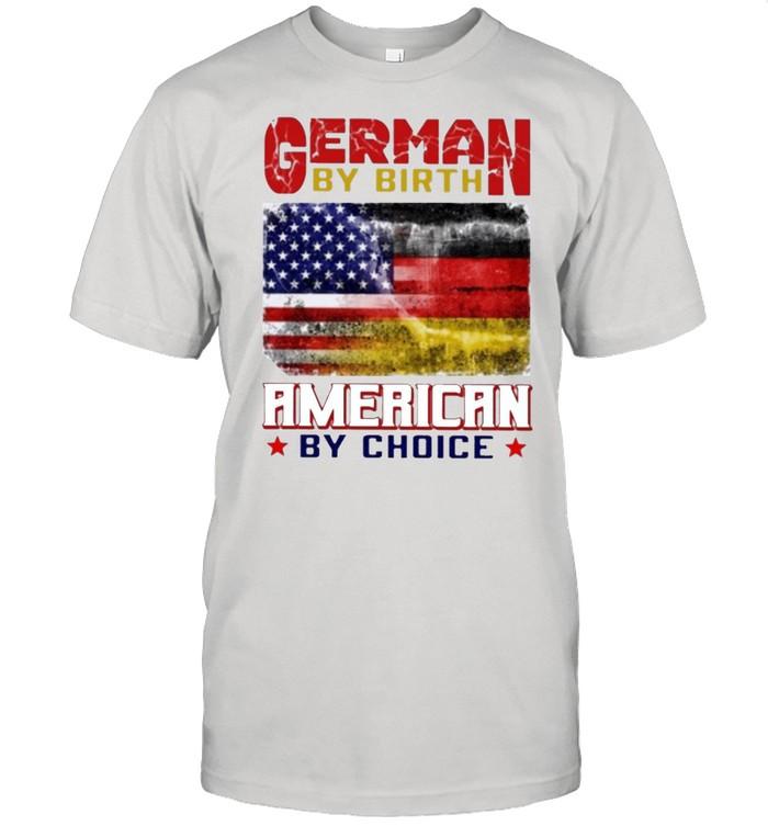 German by birth american by choice shirt Classic Men's T-shirt