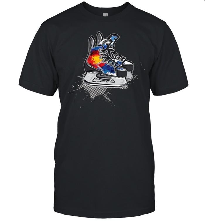 Colorado Hockey Skates T- Classic Men's T-shirt
