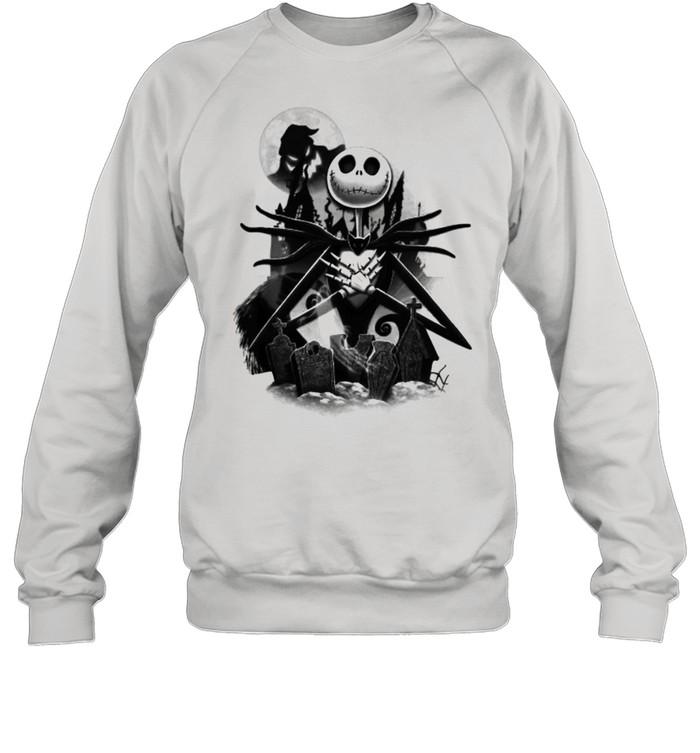 Disney Nightmare Before Christmas Jack T- Unisex Sweatshirt
