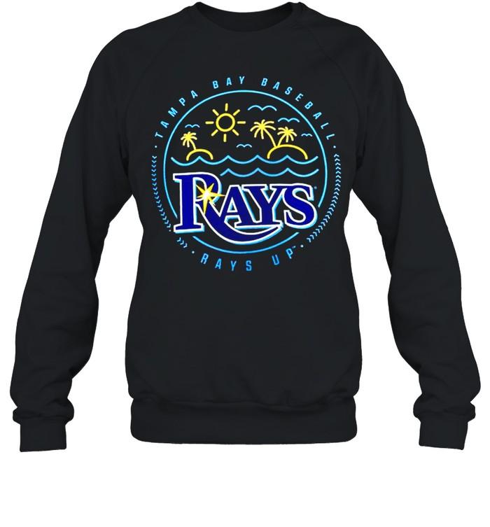 Tampa Bay Rays Sunshine Hometown Rays up shirt Unisex Sweatshirt
