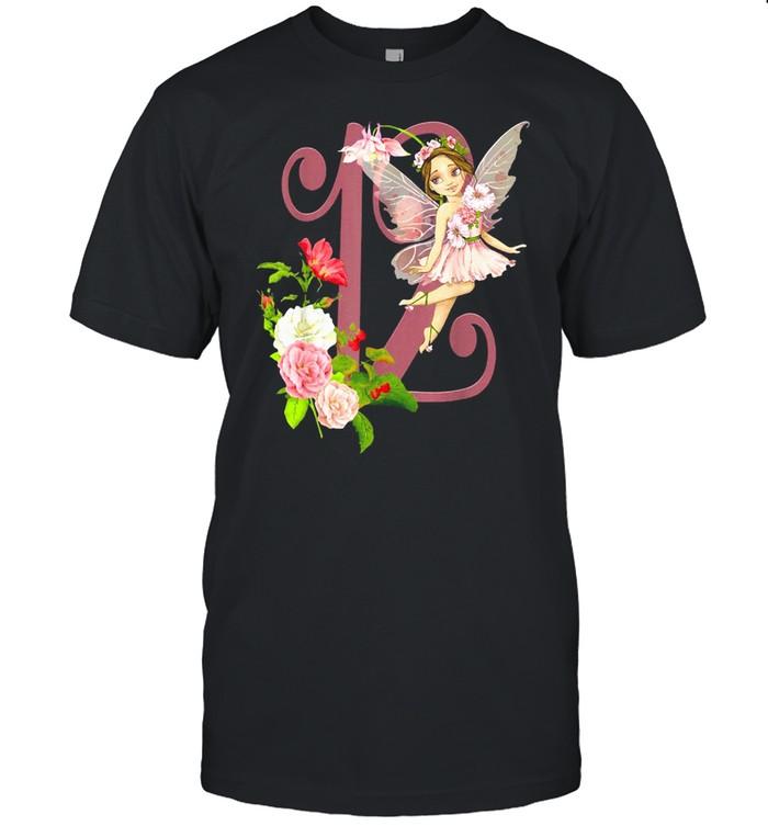12th Birthday Fairy Girl Peach Faerie Latina Fairies T-shirt Classic Men's T-shirt