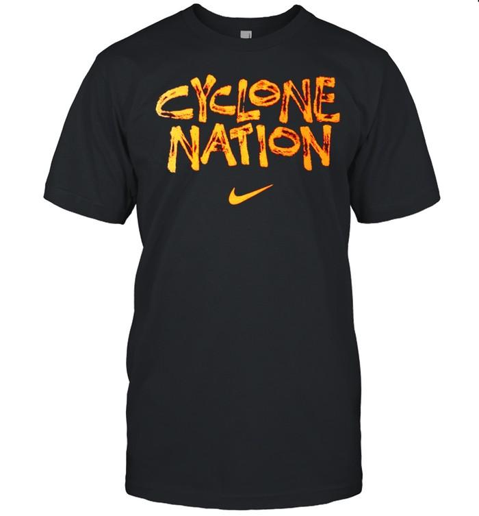 Nike cyclone nation Iowa State Cyclones shirt Classic Men's T-shirt