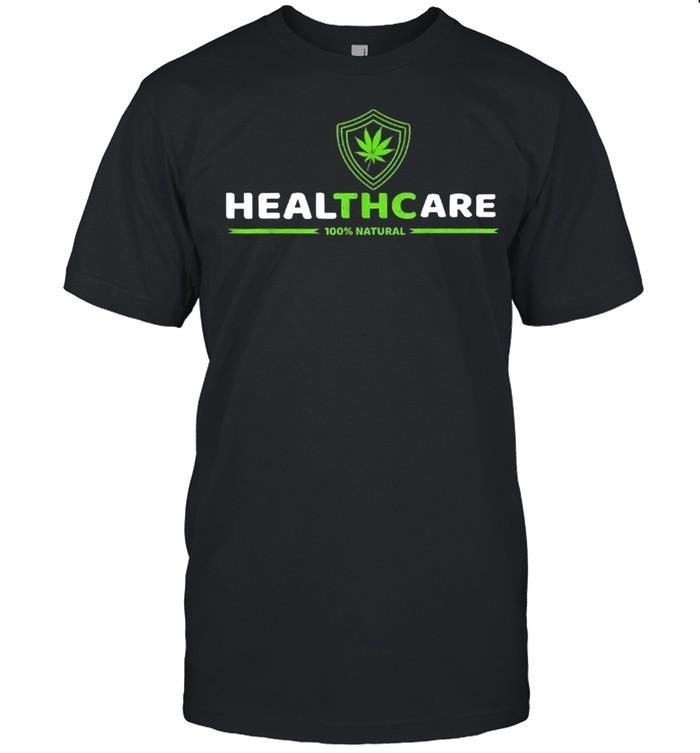 THC Healthcare Cannabis Medical Marijuana shirt Classic Men's T-shirt