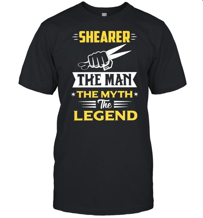 Shearer The Man The Myth The Legend shirt Classic Men's T-shirt