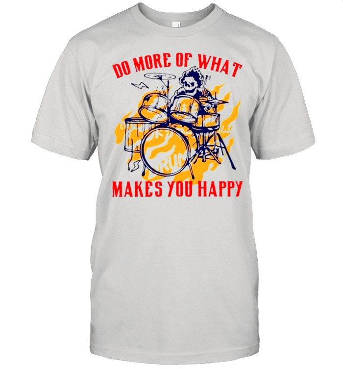 Skeleton drum do more of what makes you happy shirt Classic Men's T-shirt