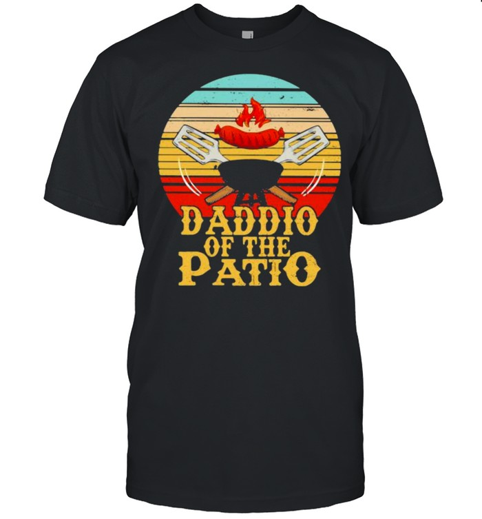 Daddio Of The Patio BBQ Vintage  Classic Men's T-shirt