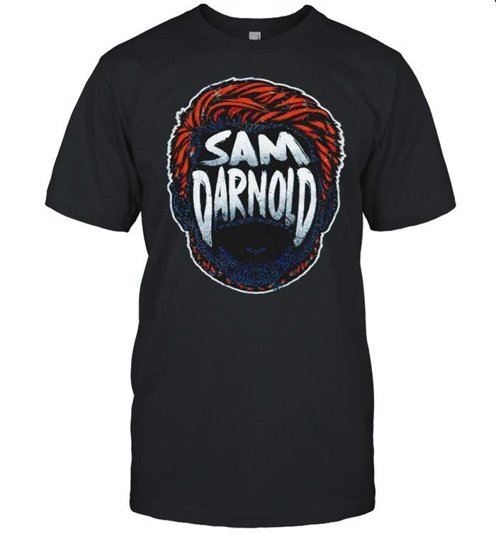 Carolina Football Sam Darnold Player Silhouette signature shirt Classic Men's T-shirt