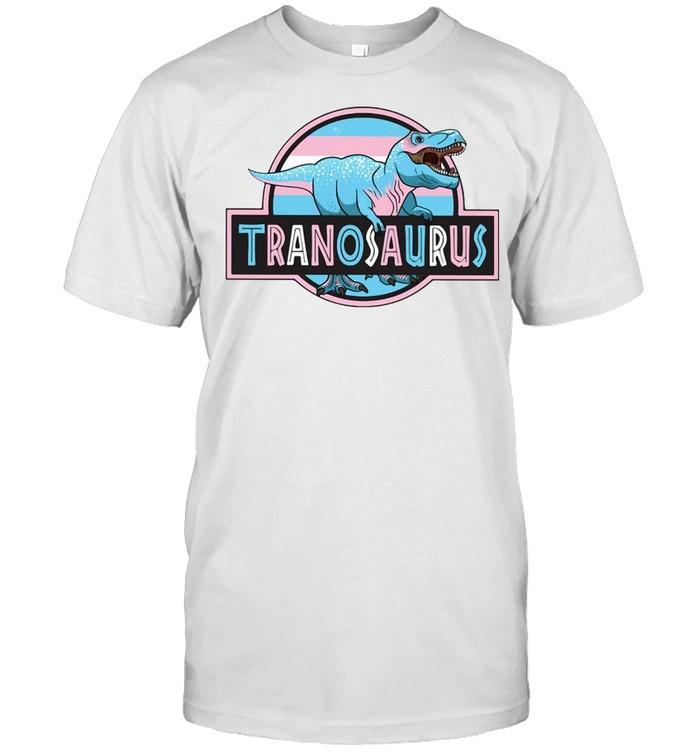 LGBT Tranosaurus T-shirt Classic Men's T-shirt