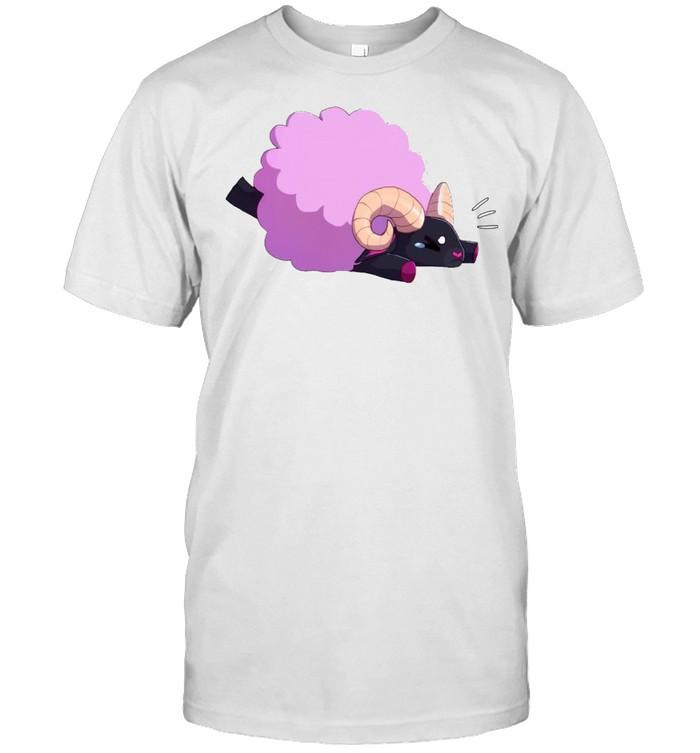 Falling Sheep Pullover Purple Sheep T-shirt Classic Men's T-shirt