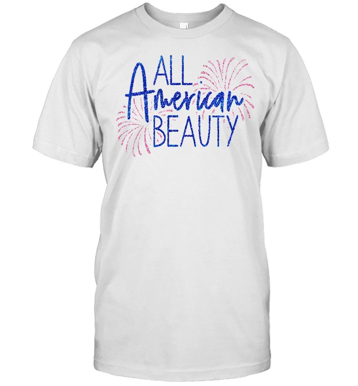 Girls 4th of July Outfit Red White Blue Leotard Patriotic shirt Classic Men's T-shirt
