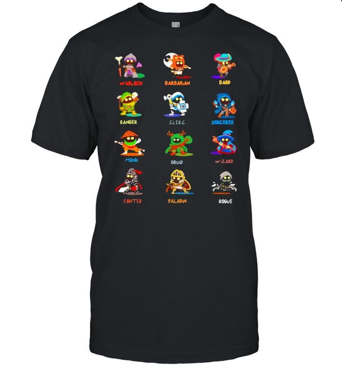 Chibi Class Set  Classic Men's T-shirt