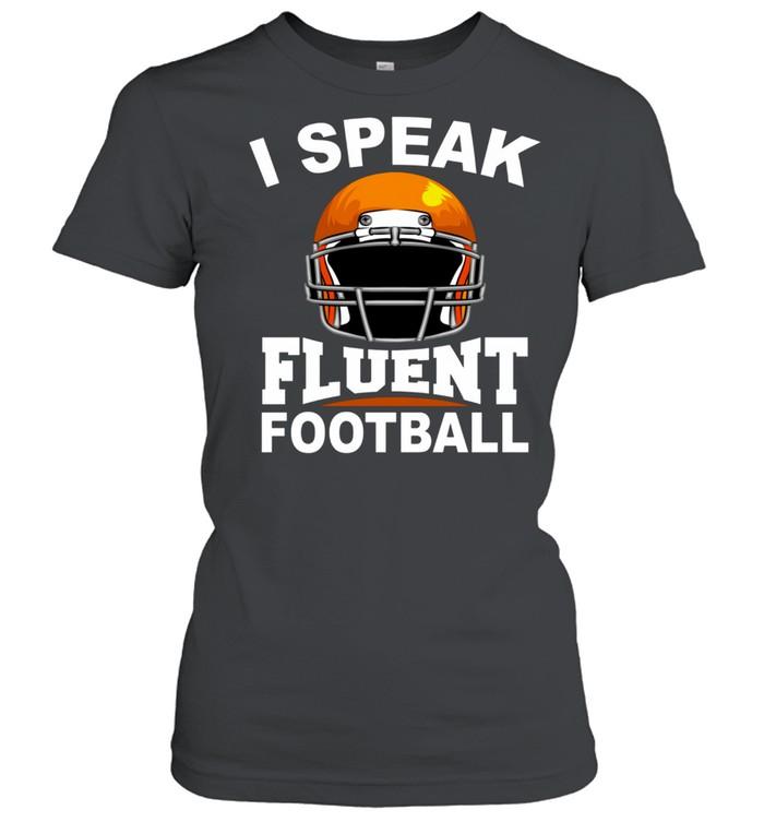 Football Cool Football Game Player shirt Classic Women's T-shirt