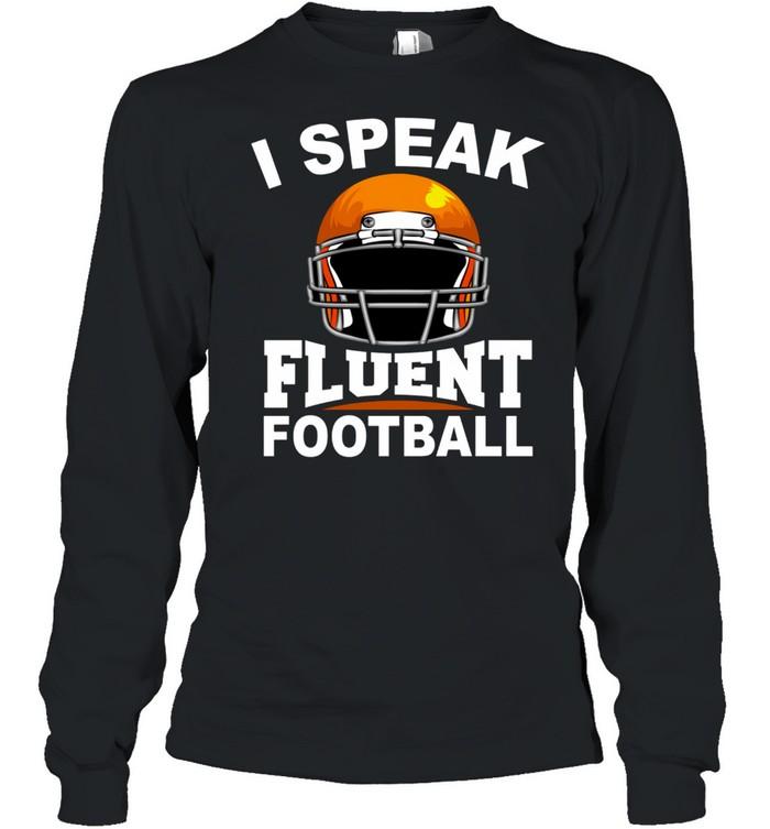 Football Cool Football Game Player shirt Long Sleeved T-shirt