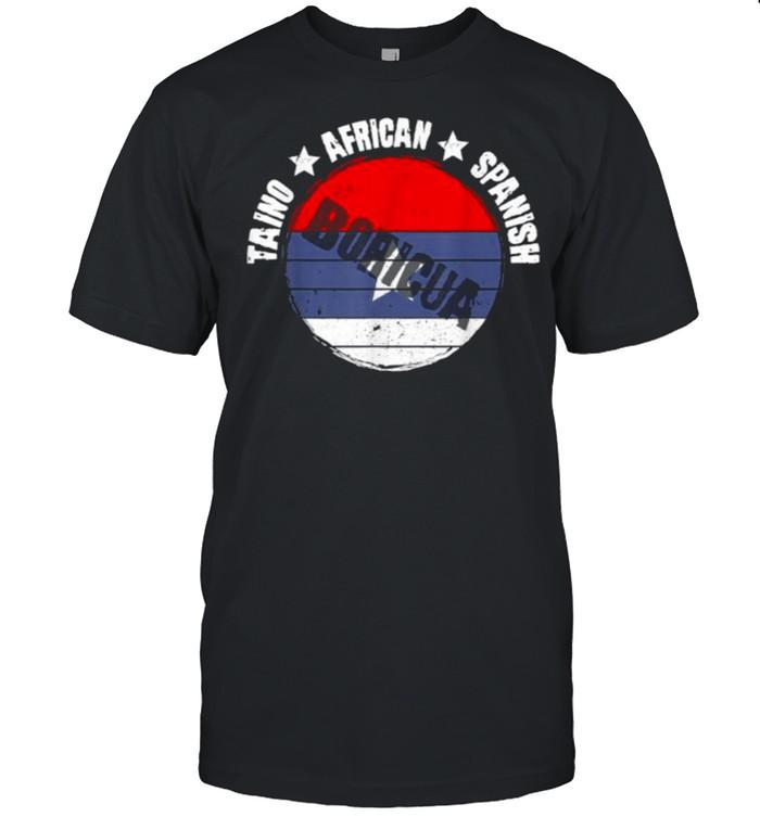 Taino African Spanish Boricua T- Classic Men's T-shirt