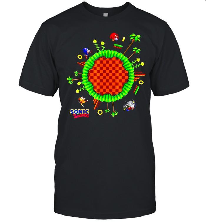 Sonic World Gaming Lovers T-shirt Classic Men's T-shirt