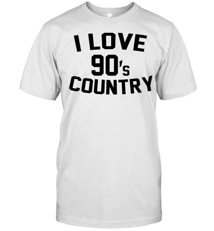 I love 90s country shirt Classic Men's T-shirt
