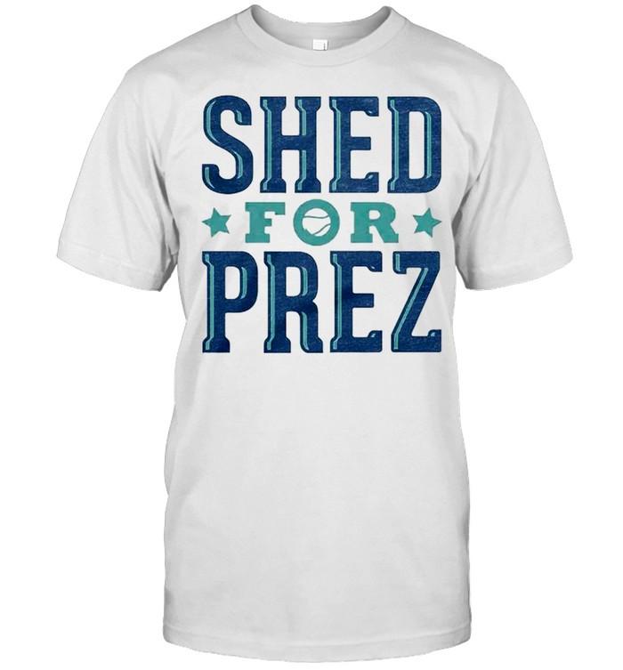 Shed Long for Prez shirt Classic Men's T-shirt