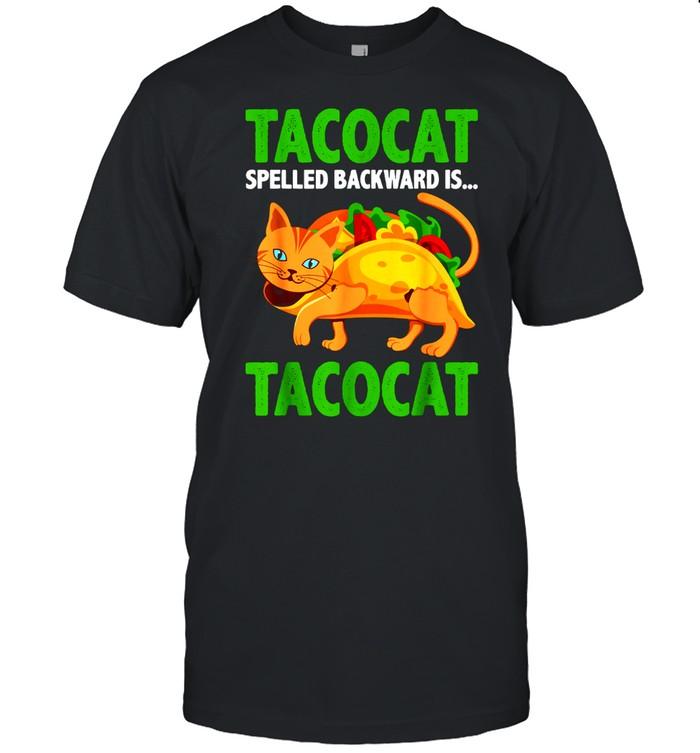TACOCAT rückwärts buchstabiert ist mexikanischer Taco shirt Classic Men's T-shirt